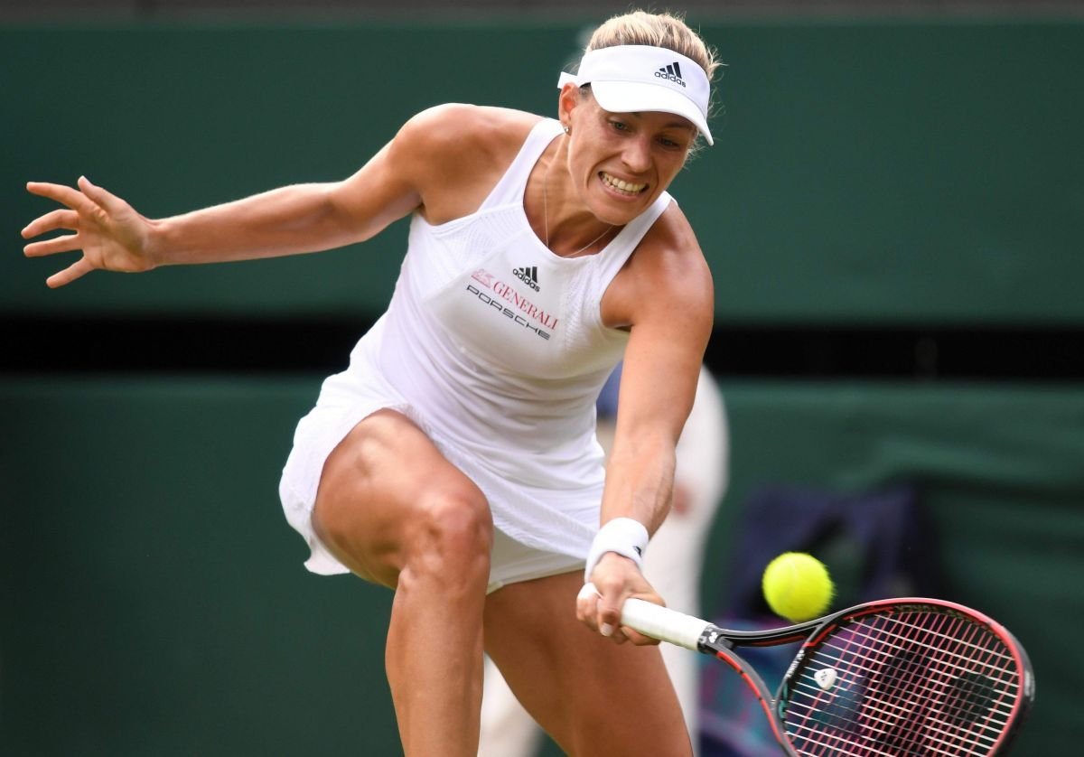 ANGELIQUE KERBER at Wimbledon Championships 07/04/2017
