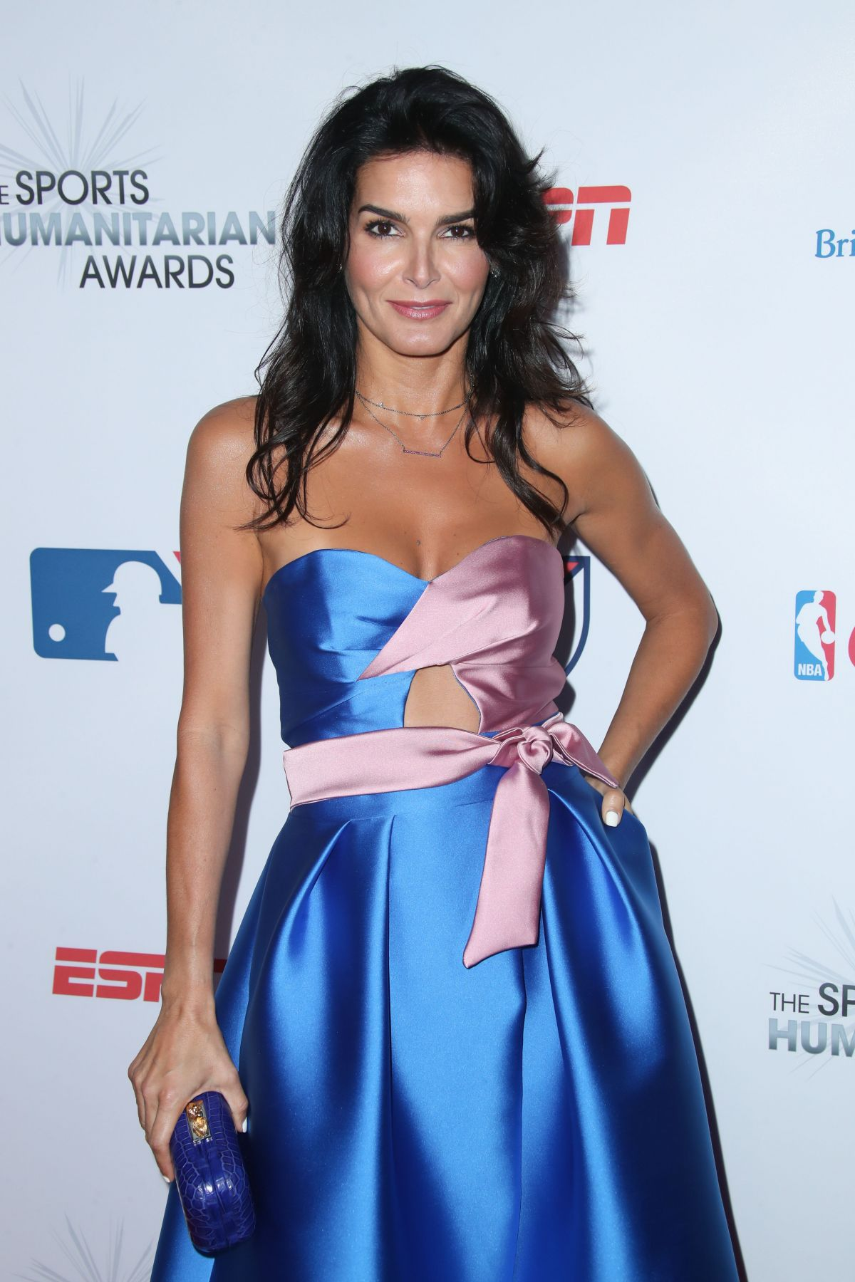 ANGIE HARMON at 3rd Annual Sports Humanitarian of the Year Awards in Los Angeles 07/11/2017
