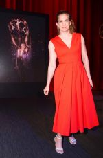 ANNA CHLUMSKY at 69th Emmy Awards Nominations Announcement Hollywood 07/13/2017