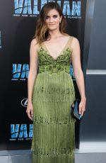 ANNA WOOD at Valerian and the City of a Thousand Planets Premiere in Hollywood 07/17/2017