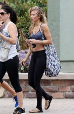 ANNALYNNE MCCORD Out and About in Malibu 07/28/2017