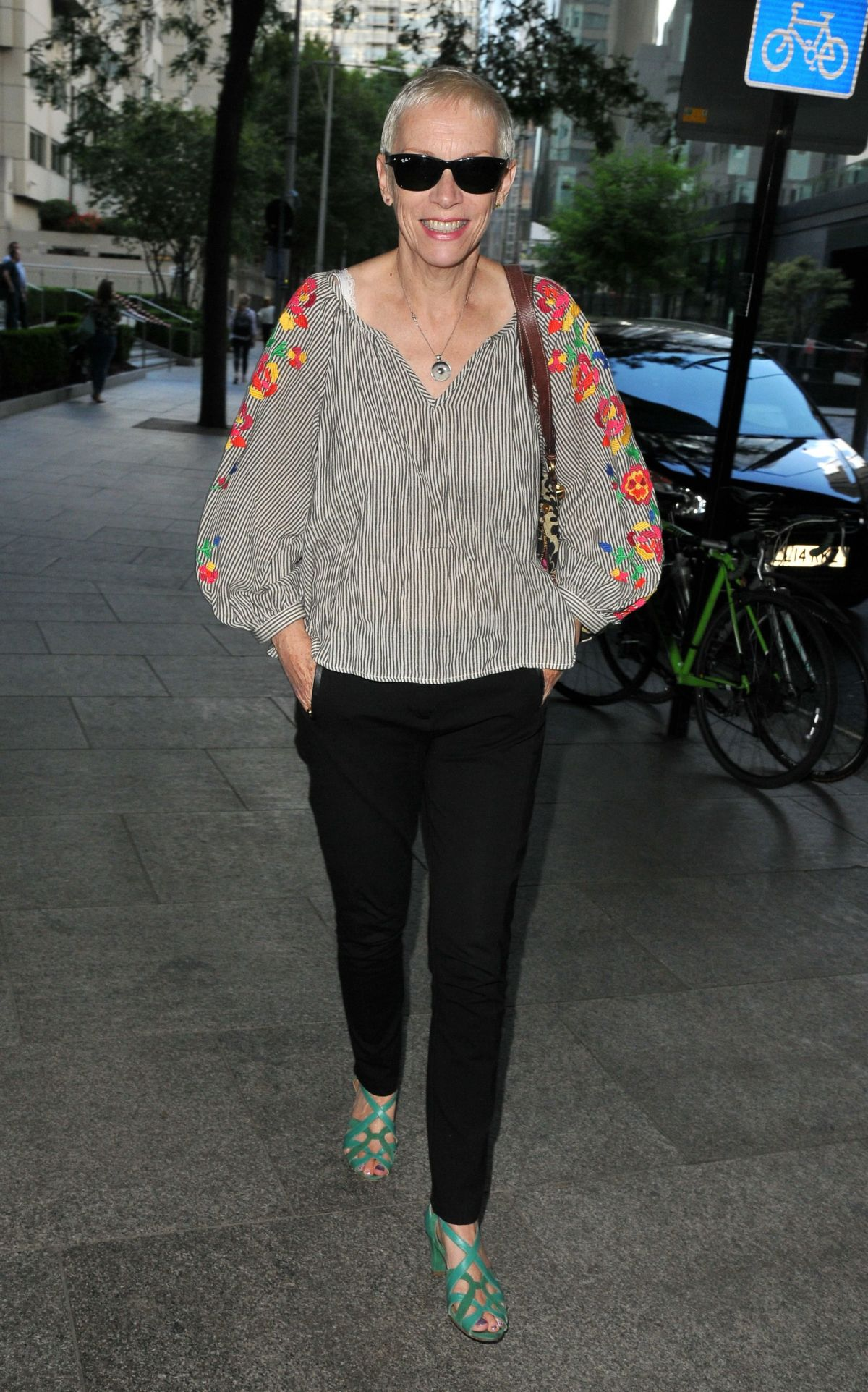 ANNIE LENNOX at In This Climate Screening in London 07/10/2017