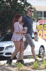 ARIEL WINTER Out for Coffee in Studio City 07/10/2017