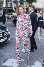 ARIZONA MUSE at Vogue Party at Paris Fashion Week 07/04/2017