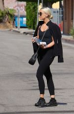 ASHLEE SIMPSON Leaves a Gym in Beverly Hills 07/17/2017