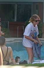 ASHLEY BENSON at a Pool Party in Miami 07/02/2017