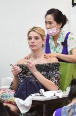ASHLEY GREENE at a Nail Salon in Beverly Hills 07/01/2017