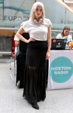 ASHLEY JAMES at Hoxton Radio Live from St Pancras International Station in London 06/30/2017