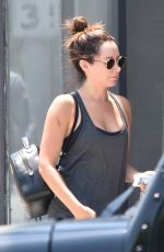ASHLEY TISDALE  at a Gym in Studio City 07/17/2017