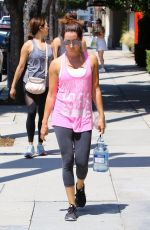 ASHLEY TISDALE Leaves a Gym in Los Angeles 07/14/2017