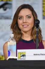 AUBREY PLAZA at Legion Panel at Comic-con in San Diego 07/20/2017
