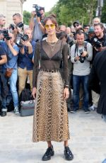 AYMELINE VALADE at Christian Dior Show at Haute Couture Fashion Week in Paris 07/03/2017