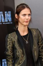 AYMELINE VALADE at Valerian and the City of a Thousand Planets Premiere in Hollywood 07/17/2017