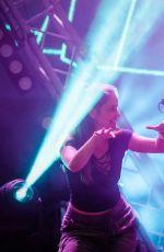 BARBARA PALVIN at Efott Festival in Velence 07/14/2017