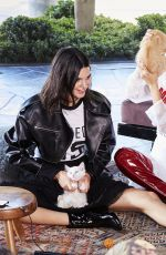 BELLA HADID and KENDALL JENNER for Ochirly Campaign 2017