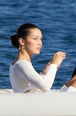 BELLA HADID and KENDALL JENNER Out in Mykonos 07/09/2017