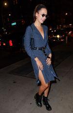 BELLA HADID Leaves Her Hotel in New York 07/17/2017