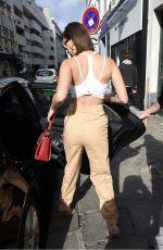 BELLA HADID Leaves Rouchon