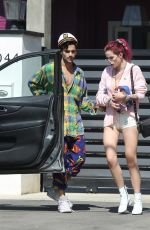 BELLA THORNE and Max Ehrich Out in Los Angeles 07/23/2017