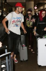 BELLA THORNE at LAX Airport in Los Angeles 07/19/2017