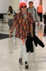 BELLA THORNE at Los Angeles International Airport 07/11/2017