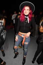 BELLA THORNE at Vic Mensa: The Autobiography Showcase in Los Angeles 07/13/2017
