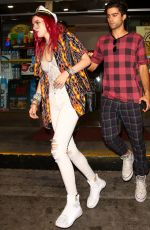 BELLA THORNE Out in Los Angeles 07/22/2017