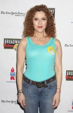 BERNADETTE PETERS at 19th Annual Broadway Barks Animal Adoption Event in New York 07/08/2017