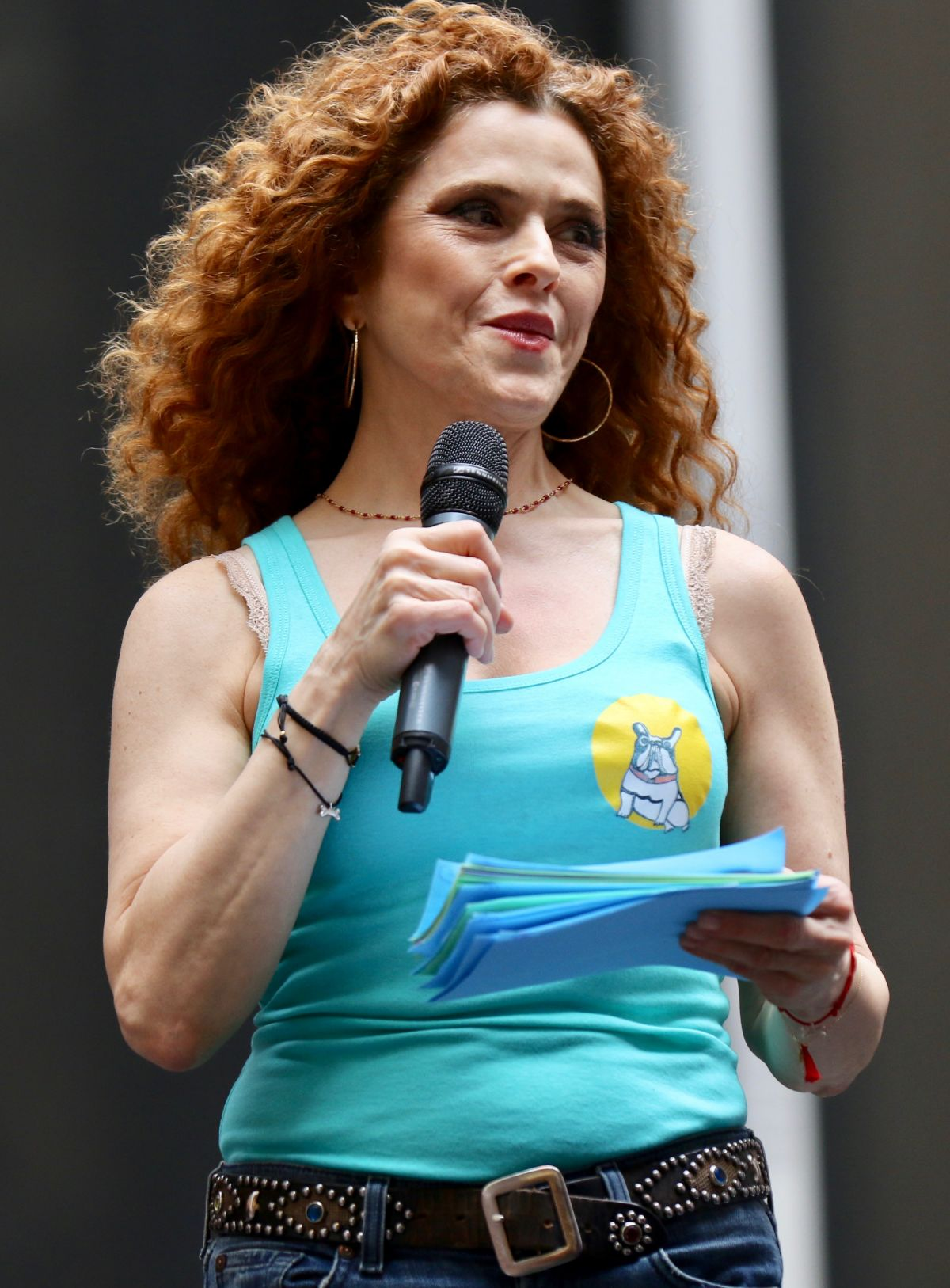 BERNADETTE PETERS at 19th Annual Broadway Barks Animal ...