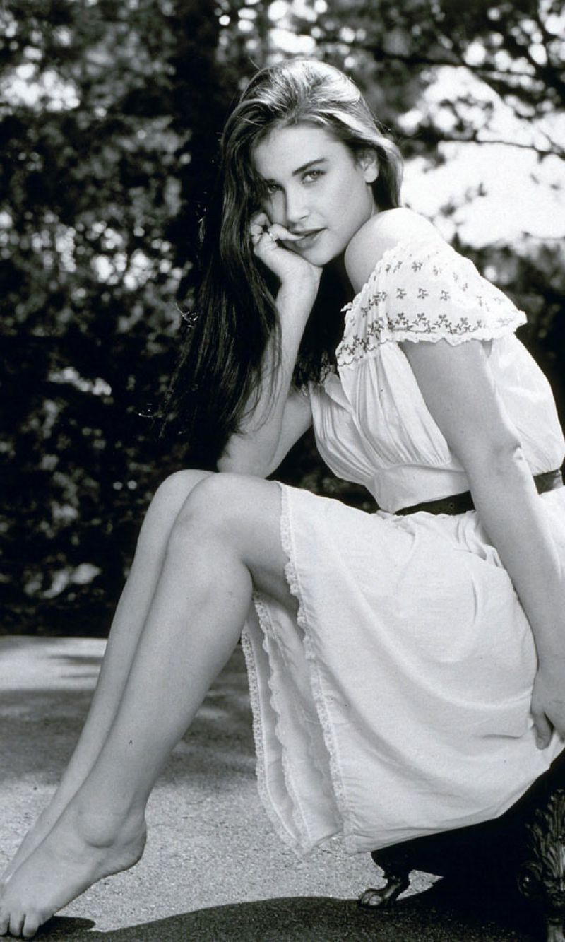 Best from the Past – DEMI MOORE from 1981 – HawtCelebs