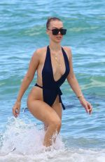 BIANCA ELOUISE in Swimsuit on the Beach in Miami 07/26/2017