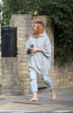 BILLIE PIPER Out and About in London 06/28/2017