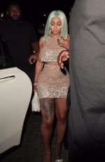 BLAC CHYNA Arrives at Ace of Diamonds Club in West Hollywood 07/17/2017