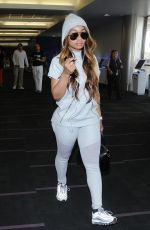 BLAC CHYNA Arrives at ATL for a Club Appearance in Los Angeles 07/15/2017