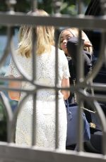 BLAC CHYNA at ABC Studios in Burbank 07/09/2017