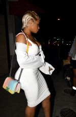 BLAC CHYNA Leaves a Photoshoot in Los Angeles 07/07/2017