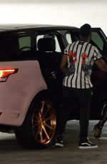 BLAC CHYNA Night Out in Los Angeles 07/08/2017
