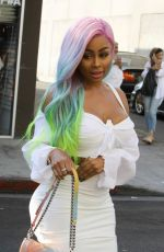 BLAC CHYNA Out and About in Los Angeles 07/06/2017