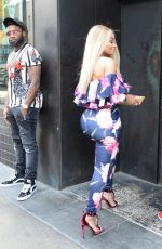 BLAC CHYNA Out and About in Los Angeles 07/08/2017