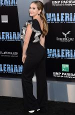 BREC BASSINGER at Valerian and the City of a Thousand Planet Premiere in Hollywood 07/17/2017
