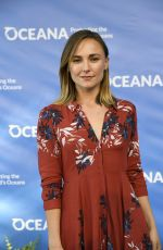BRIANA EVIGAN at Oceana Seachange Summer Party in Los Angeles 07/15/2017