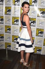 BRIANNA HILDEBRAND at The Exorcist Press Line at Comic Con in San Diego 07/20/2017