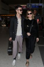 BRIE LARSON at LAX Airport in Los Angeles 06/30/2017