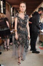 BRIE LARSON at Rodarte Fashion Show at Paris Fashion Week 07/02/2017