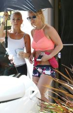 BRITNEY SPEARS Out and About in Los Angeles 07/08/2017