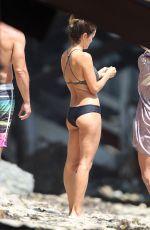 BROOKE BURKE in Bikini at Her Beach House in Malibu 07/25/2017