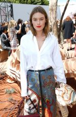 CAMILLE ROWE at Christian Dior Show at Haute Couture Fashion Week in Paris 07/03/2017