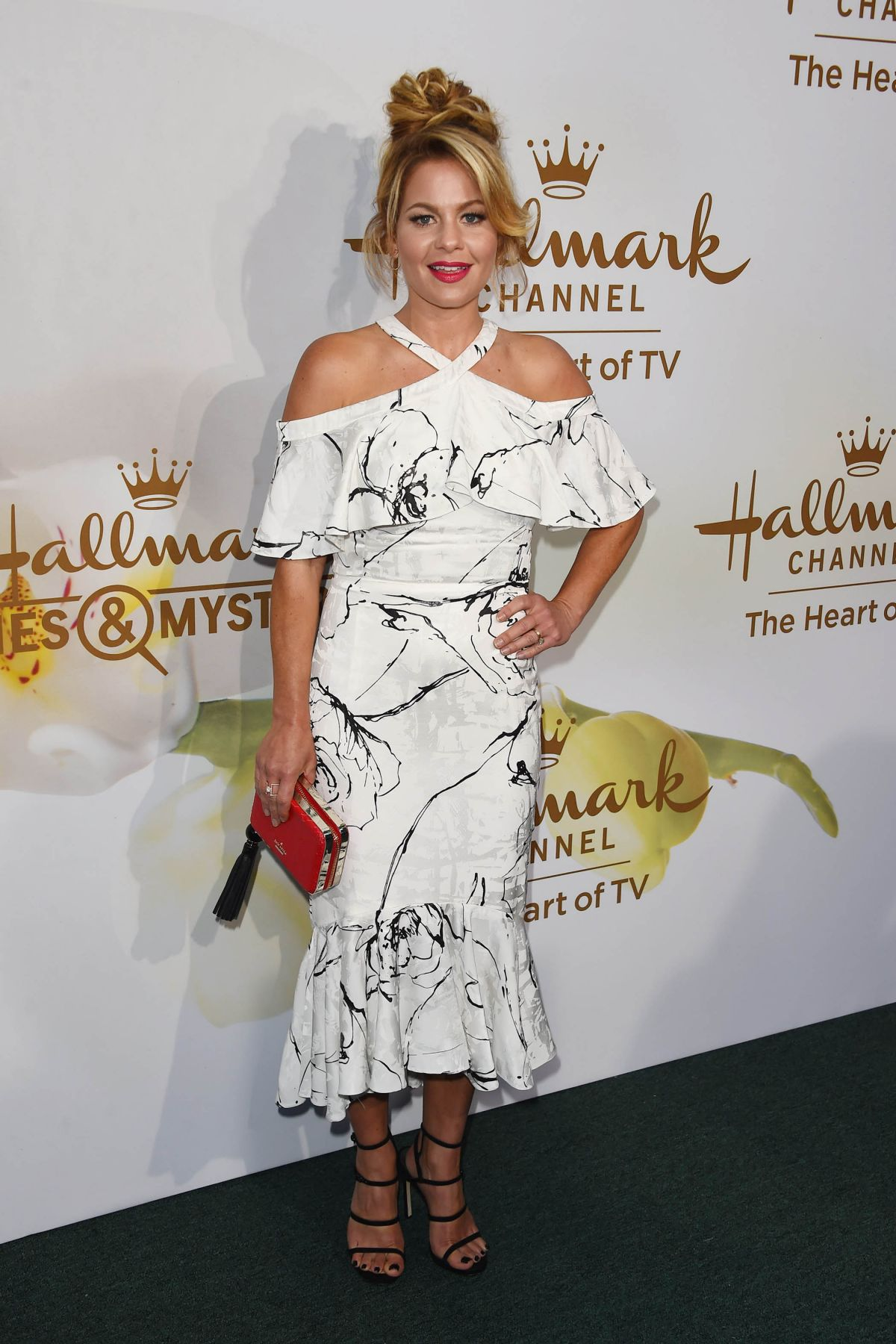 CANDACE CAMERON BURE at Hallmark Event at TCA Summer Tour in Los Angesel 07/27/2017