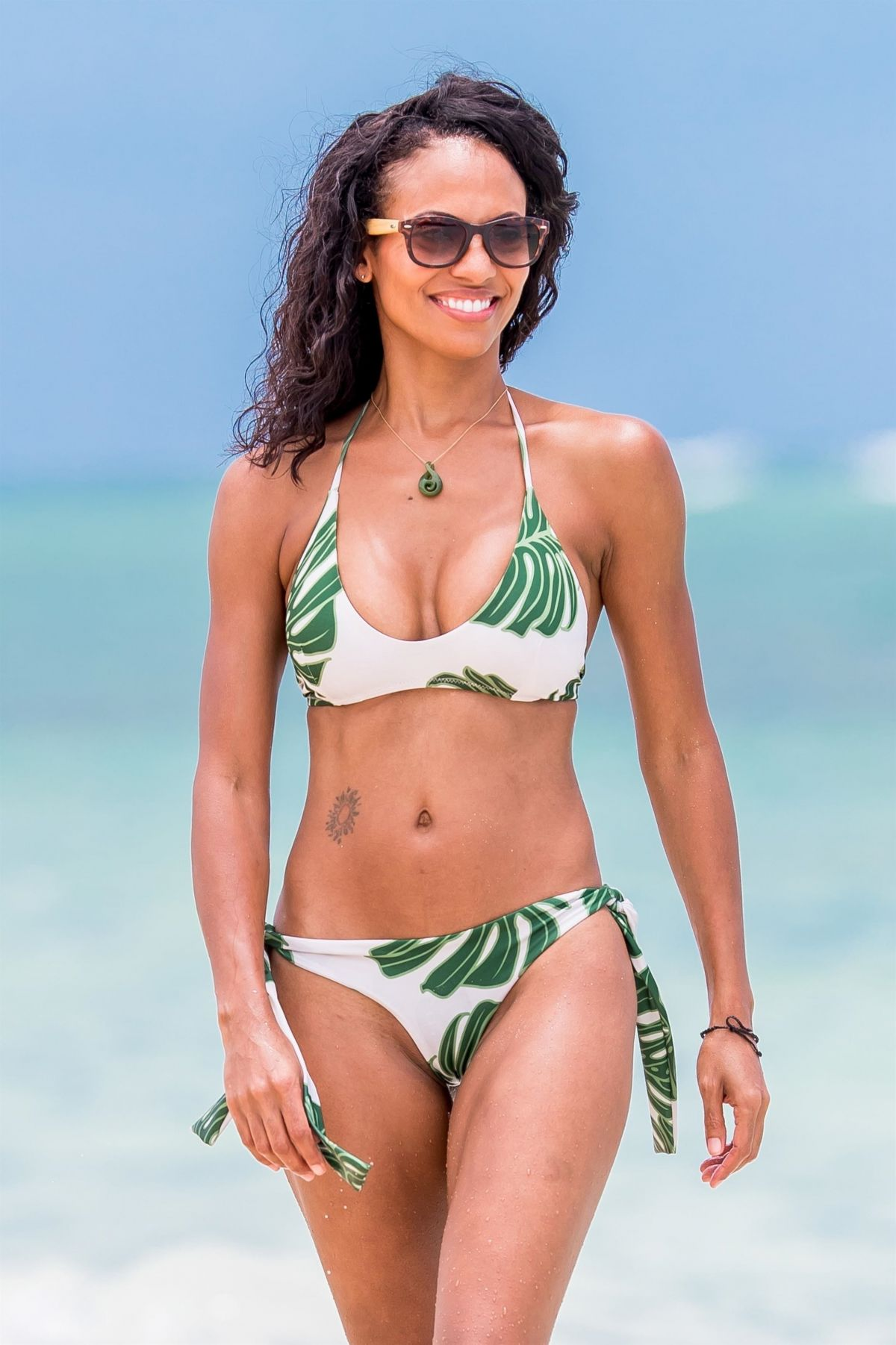 CANDACE SMITH in Bikini at a Beach in Lanikai 07/20/2017