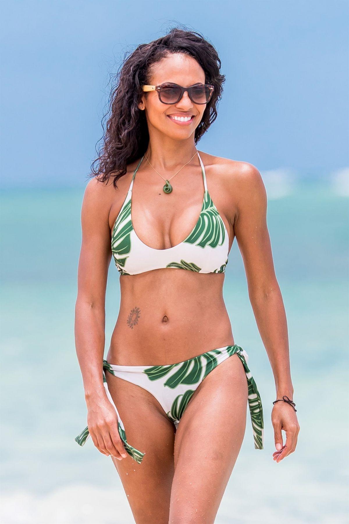 CANDACE SMITH in Bikini at a Beach in Lanikai 07/20/2017